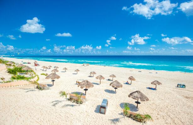 Mexiko Cancun Strand