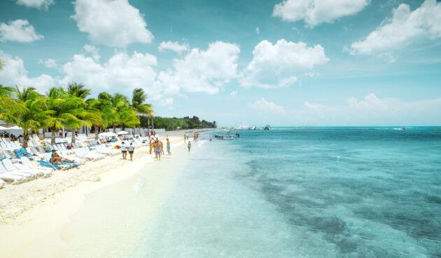 Mexiko Playa Del Carmen Strand