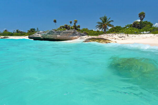 Mexiko Playa Del Carmen Meer