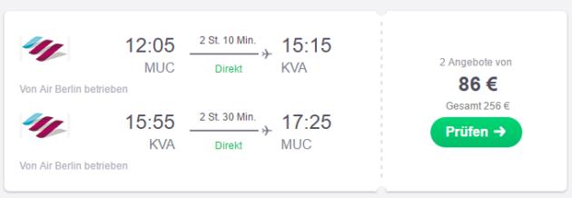MÜnchen nach Kavala