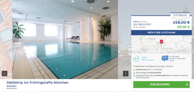 Muenchen Kurztrip Hotel