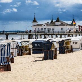 Ostsee Strandkörbe Haus