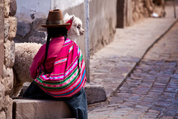 Peru Frau