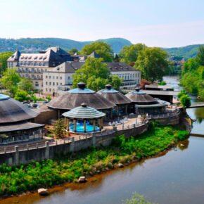 Wellness in der Pfalz: 2 Tage Entspannung mit Hotel, Halbpension und Therme nur 129€
