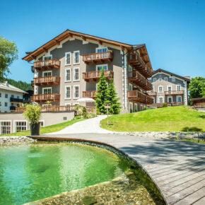 Auszeit: 3 Tage Kitzbühel im tollen 4* Bio-Resort mit HP, Wellness & Extras ab 149€