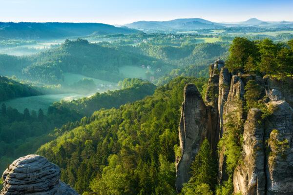 Sachsen Schweiz Bastei Nationalpark