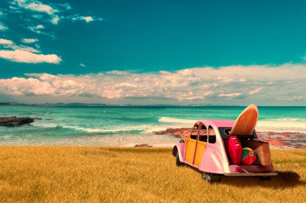 Spanien Formentera Auto