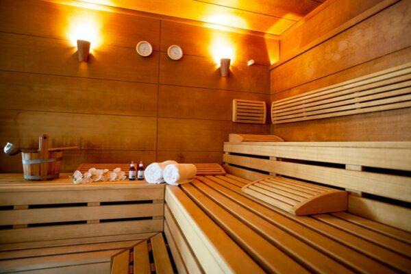 Sporthotel IGLS Sauna