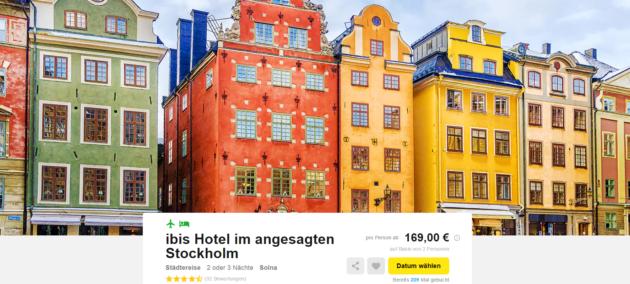 Schweden Stockholm Kurztrip