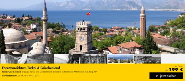 Türkei Griechenland Rundreise