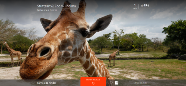 Zoo Wilhelma + Hotel