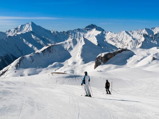 Österreich Ischgl Skifahren