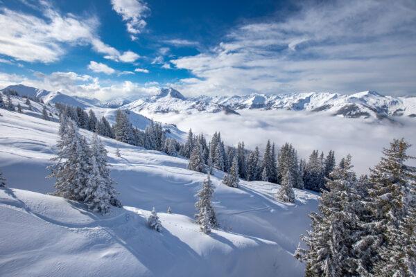 Österreich Kitzbühel Skifahren