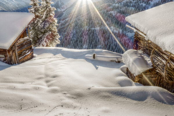 Österreich Zillertal Skifahren