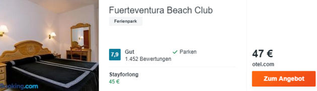 8 Tage Fuerteventura Hotel
