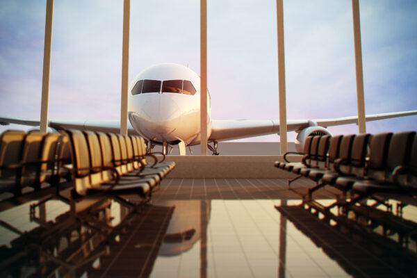 Flughafen Fenster