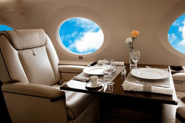 Flugzeug 1. Klasse