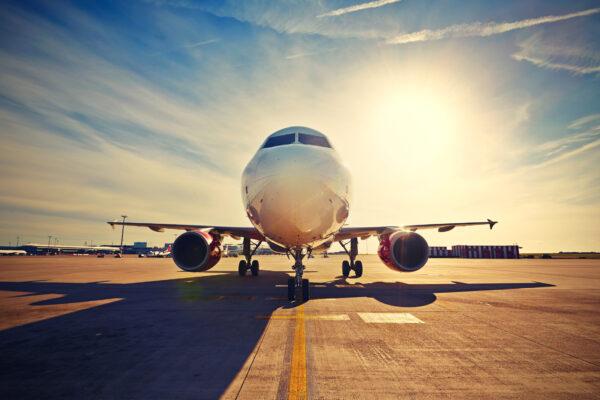Flugzeug Startbahn