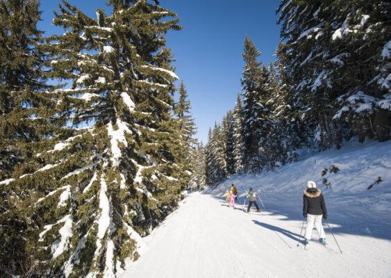 Frankreich Trois Vallees Ski