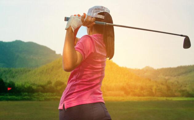 Golf Frau