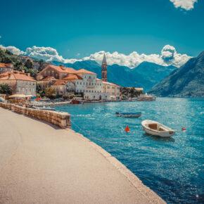 Strandurlaub in Montenegro: 8 Tage im Apartment mit Flug nur 63€