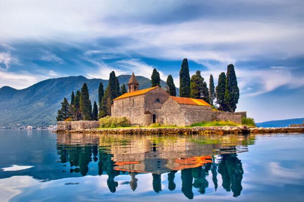 Montenegro St. George Insel