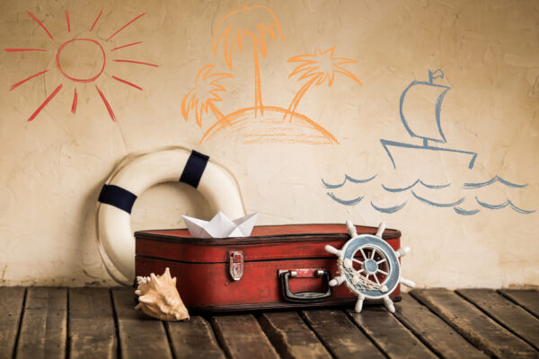 Reisen Koffer Packen