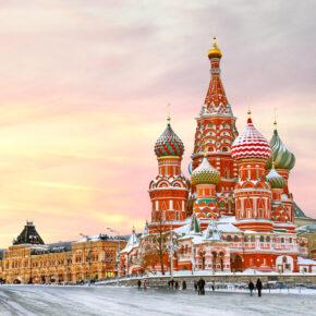 Kurztrip nach Russland: 4 Tage Moskau mit zentralem 3* Hotel, Frühstück & Flug nur 91€