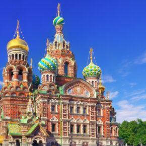 Langes Wochenende in Russland: 4 Tage St. Petersburg mit TOP 3* Hotel, Frühstück & Flug nur 89€