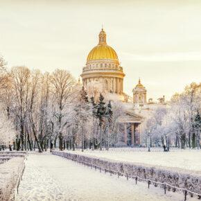 Russland im Winter: Temperaturen, die richtige Kleidung & eisige Aktivitäten
