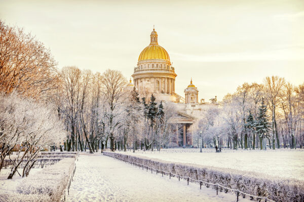 Russland im Winter