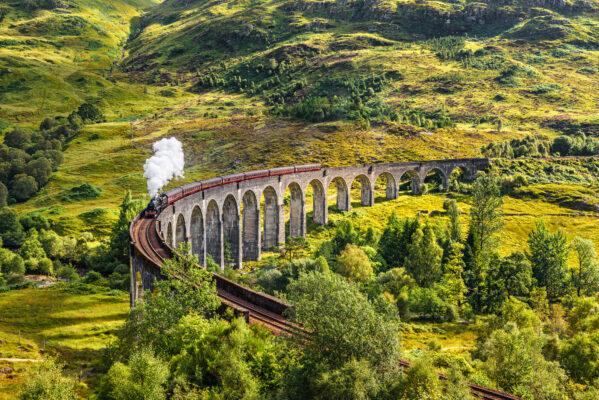 Schottland Zugstrecke