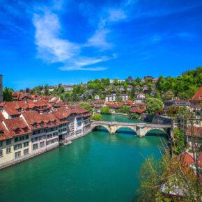 Kurztrip in die Schweiz: 2 Tage Bern am Wochenende im 4* Hotel für 51€