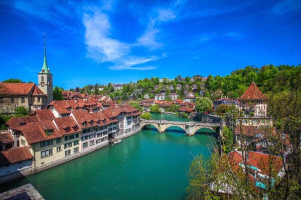 Schweiz Bern Fluss