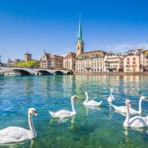 Wochenende am Zürichsee: 3 Tage im TOP 4* Hotel inkl. Frühstück für 80€