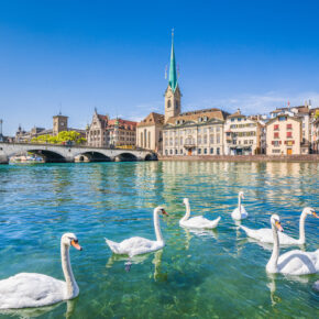 Hotelgutschein für einen Kurztrip an den Zürichsee: 3 Tage im TOP 4* Hotel mit Frühstück für 79€