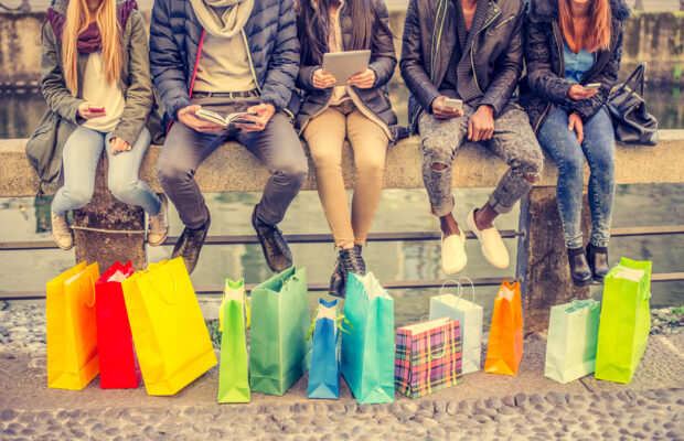 Shopping Freunde