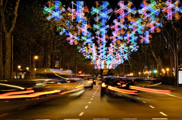 Spanien Barcelona Straße
