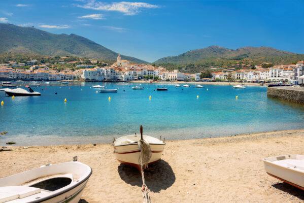 Spanien Costa Brava Boote