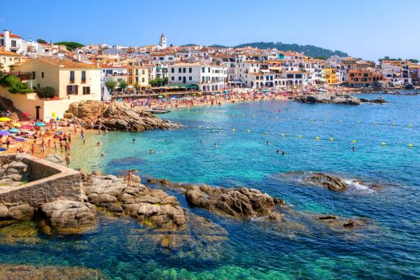 Spanien Costa Brava Stadt