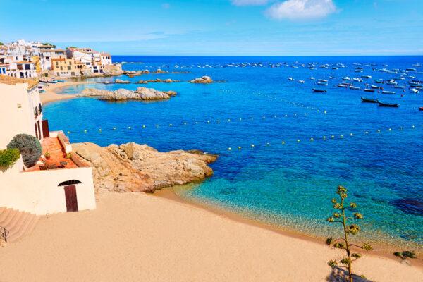 Spanien Costa Brava Strand
