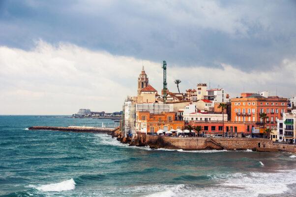 Spanien Costa Dorada Küste
