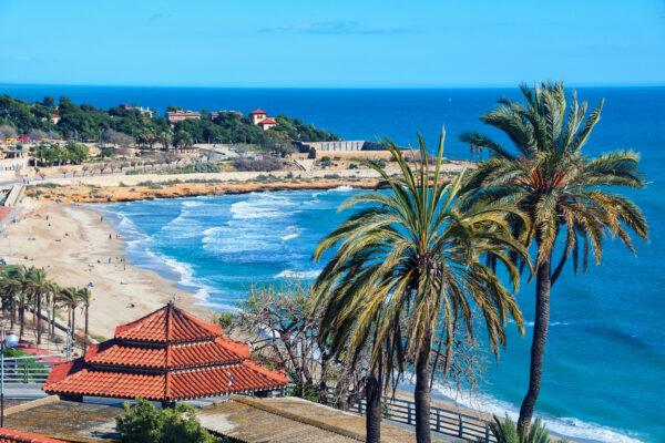 Spanien Costa Dorada Meer