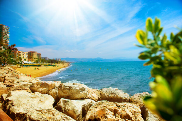Spanien Costa del Sol Bucht