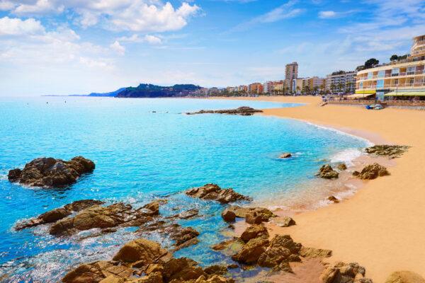 Spanien Lloret de Mar Küste