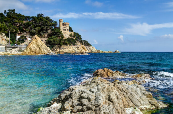 Spanien Lloret de Mar Strand