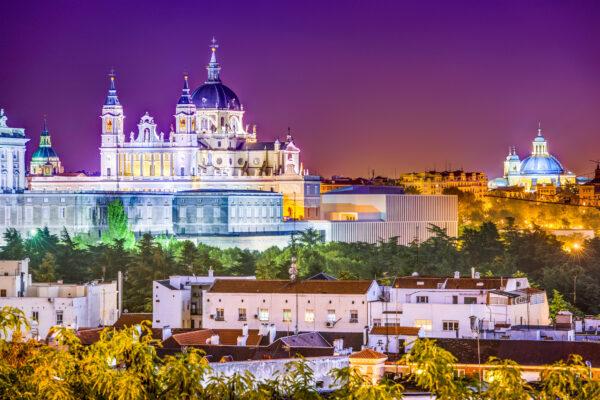Spanien Madrid Häuser