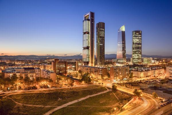 Spanien Madrid Straßen