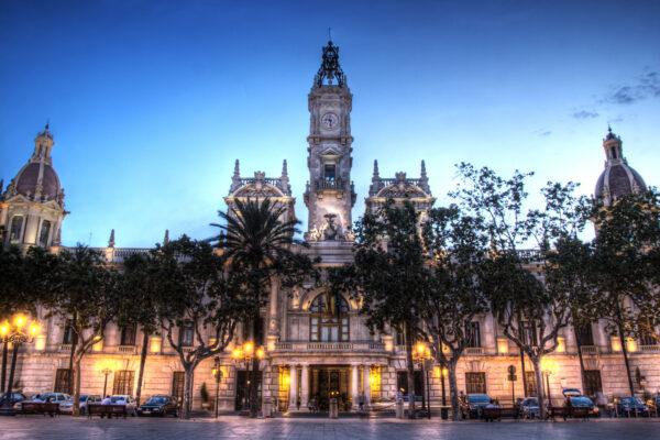 Spanien Valencia Stadthalle