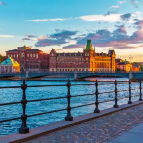 Städtetrip Stockholm: 3 Tage im TOP 3* Yacht Hotel inkl. Frühstück, Sauna & Flug ab 199€
